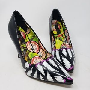 JustFab stiletto heels pointy toe